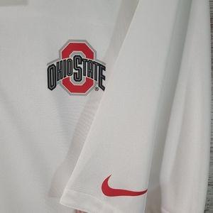 Men's Nike Dri-Fit OSU Ohio State polo LIKE NEW XL